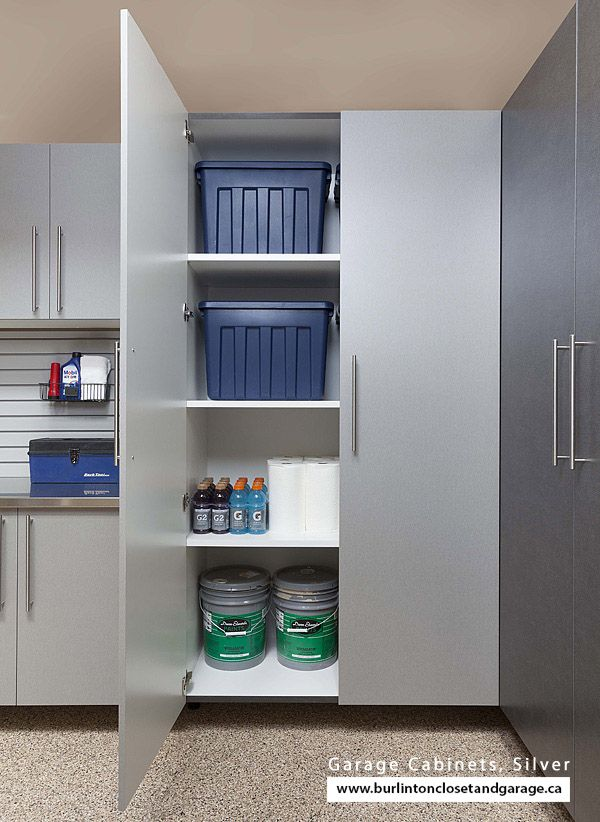 Man Cave Storage Cabinets : Man cave storage swing cabinet doors silver be sure to