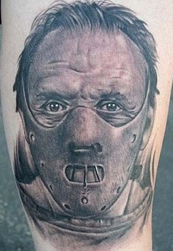 horror movie tattoos