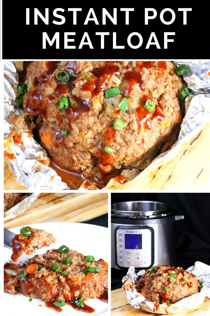 Turn your weekend specialty into a weeknight favorite with this Instant Pot Meatloaf #InstantPot #InstantPotRecipe #Meatloaf