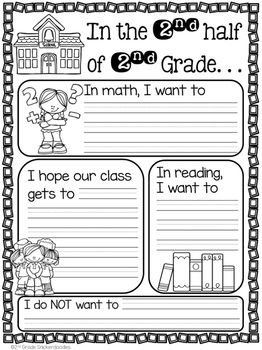 FREE activity for back to school after winter break. . . by 2nd Grade Snickerdoodles
