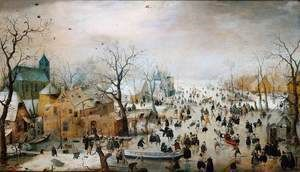 Winter Landscape 1608  Hendrick Avercamp