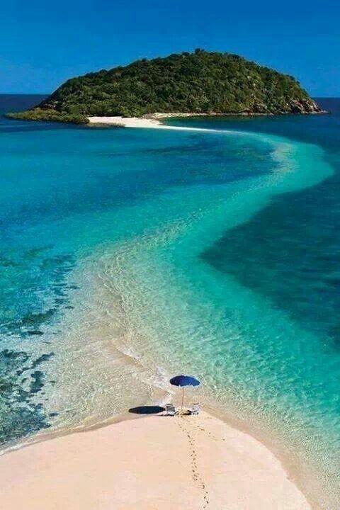 The beautiful Fiji Island's