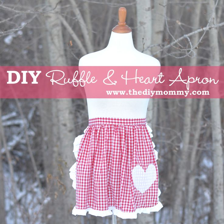This diy apron is great for a beginner sewer as it is quick and simple to make. Requiring little fabric it is also a great low cost option.