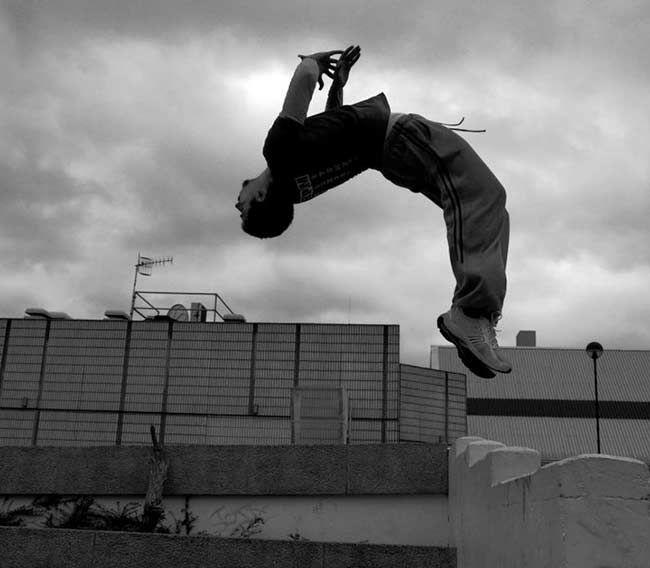 parkour wall flip - photo #12