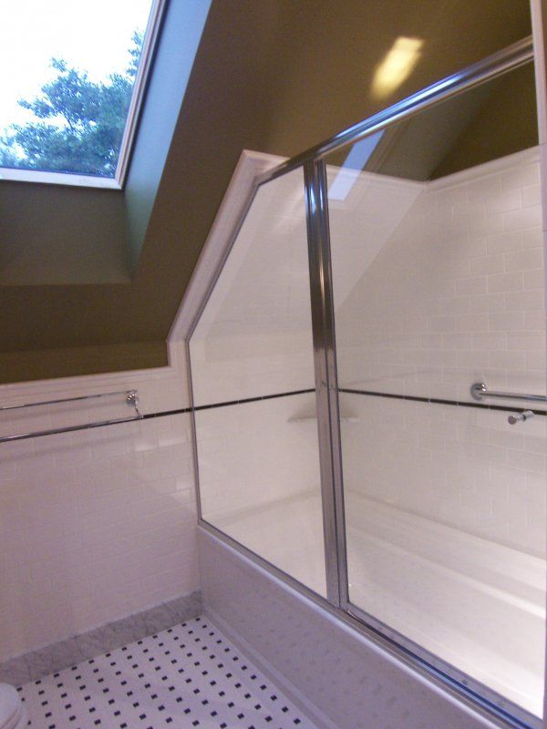 Small Bathroom Designs Slanted Ceiling best 25+ attic shower ideas on pinterest | attic bathroom, master