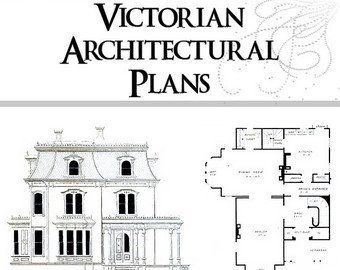 26 Victorian American Architecture Building Plans Houses