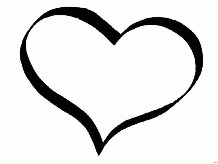 Herz Malvorlagen - SuperMalvorlagen Herz ausmalbild