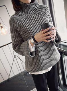 22. Теплый свитер