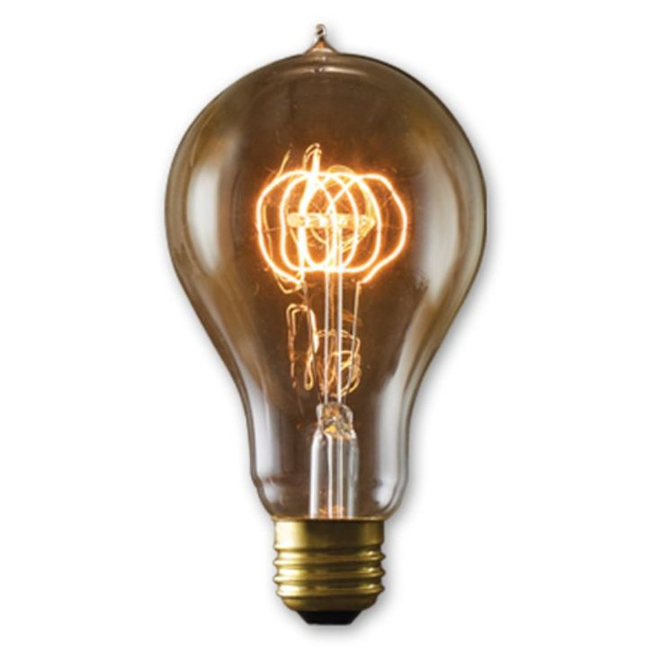 Bulbrite Victorian Loop Filament A23 Incandescent Edison Light Bulb - 4 pk. - BULB520