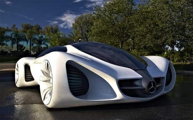 Dream new Mercedes-Benz Biome - the car at one with nature