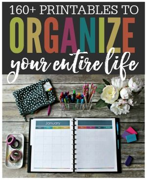 Organize your entire life with printables! These beautiful printables are made to keep your life tidy and in order. No more lost paperwork, forgotten passwords, or missing contact information. With This Organized Life you'll be able to keep track of everything including your: daily tasks, appointments, finances, contacts, passwords, meal planning, health, fitness, kids, pets, cleaning, organization, and more!