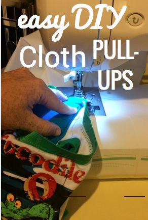 The Red Accordion Diaries: DIY Sew Your Own Cloth Training Pants / Pullups Tutorial.