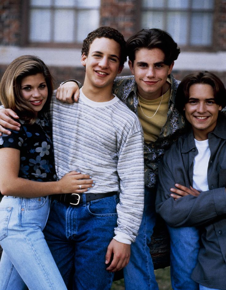 Admit it, you couldn't watch Boy Meets World back in the day without comparing yourself to the characters.