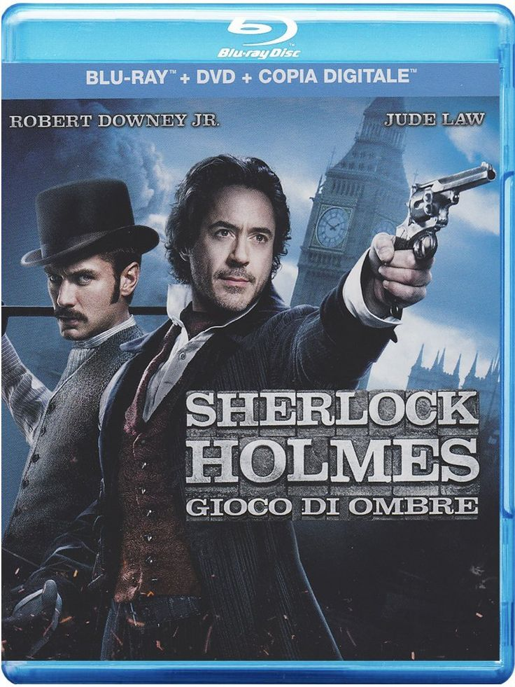 Sherlock Holmes - Gioco Di Ombre Blu-Ray+Dvd+Copia Digitale: Amazon.it: Robert Downey Jr., Jude Law, Noomi Rapace, Stephen Fry, Jared Harris, Kelly Reilly, Geraldine James, William Houston, Gilles Lellouche, Eddie Marsan, Rachel McAdams, Patricia Slater,