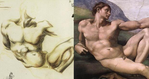 #artninja @katarte_ fino al 27 luglio #Pollock e #Michelangelo #Firenze http://www.katarte.it/2014/04/jackson-pollock-michelangelo-sfida-tra-titani/…  #enjoythecommunity