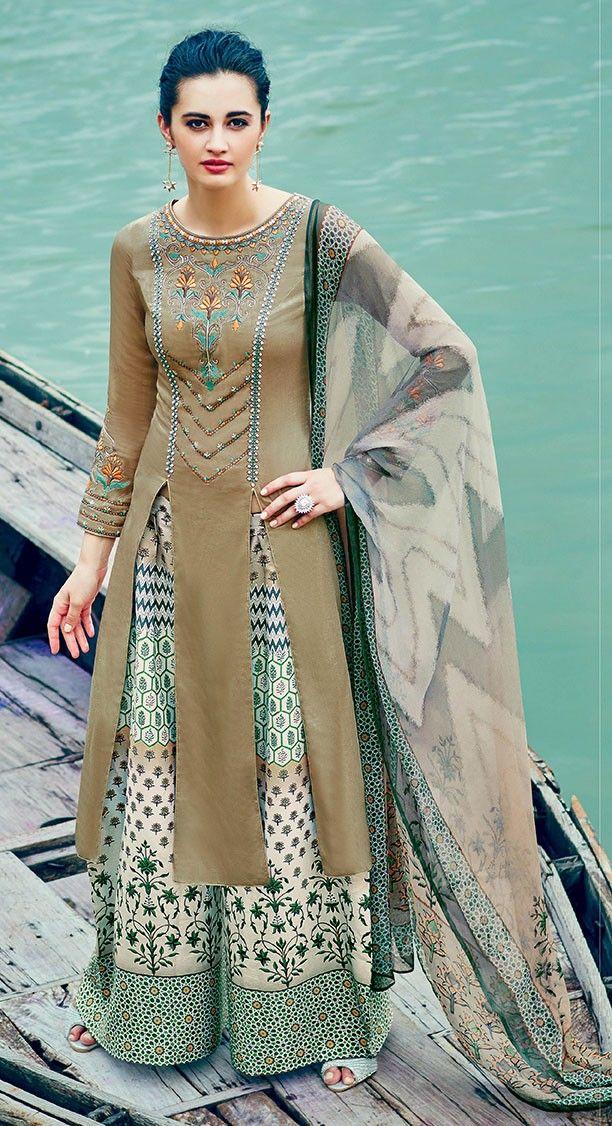 13 besten Palazzo Suit Bilder auf Pinterest | Baumwolle salwar ...
