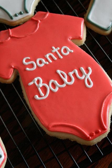 santa baby cookies