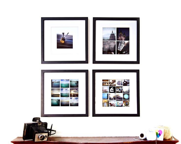 Love the 1 2 3 4 photo arrangement