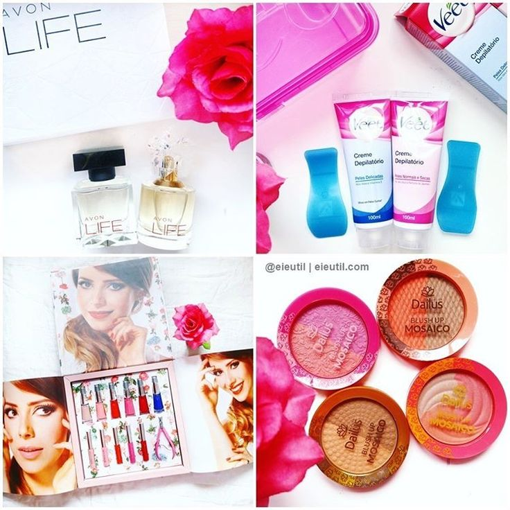 """Ei, é Útil! (Ana e Isa) no Instagram: """"#ChegouNOeiEutil #eiEutil, esses são os #RecebidosDaSemana: . ➡️ #Avon: Novas fragrâncias em parceria com #KenzoTakada, #LIFE. Foram inspiradas na jornada de vida do ícone mundial do design de moda, por perfumistas fizeram parte de sua trajetória profissional! Uma fascinante combinação de elementos orientais e ocidentais. R$124 cada. #VidasQueInspiram #AvonBR #AvonBrasil . ➡️ #Veet: O verão está chegando e junto com ele vem os preparativos para viajar…"""