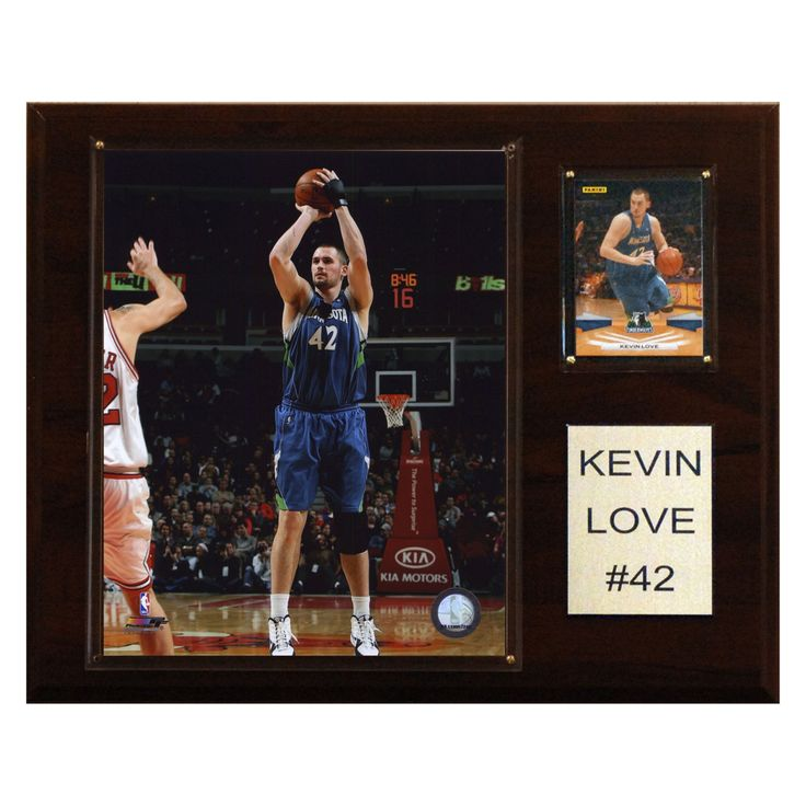 NBA 12 x 15 in. Kevin Love Minnesota Timberwolves Player Plaque - 1215KLOVE