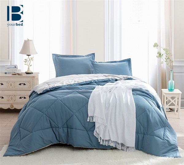 The BYB Smoke Blue Silver Birch Reversible Comforter is both cozy and  stylish  With. 7 best BYB Reversible Comforters images on Pinterest   Comforter