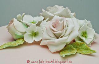 Gumpaste: Rosen+Hortesien /Roses+Hydragea