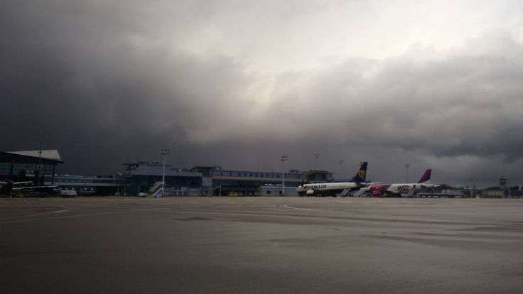 #airport #airportgdansk #gdansk #clouds / photo: Adam Banaszkiewicz