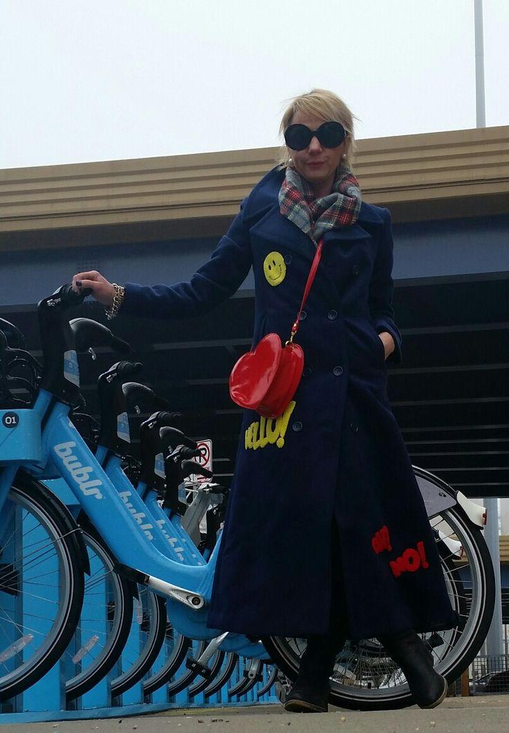 Dianah Gruenke Lifestyle Engineer Trench coat Mafia