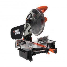 Pinturerías Rex - Sierra Ingletadora 254 mm Guia Laser Black & Decker - Herramientas electricas - Producto