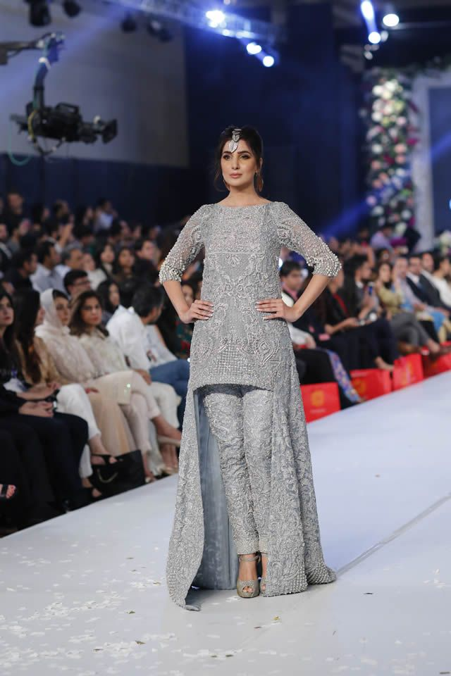 Fashion Designer HSY Collection PFDC Loreal Paris Bridal Week 2015 Gallery