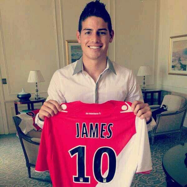 James Rodriguez 10 Monaco Fc i love soccer