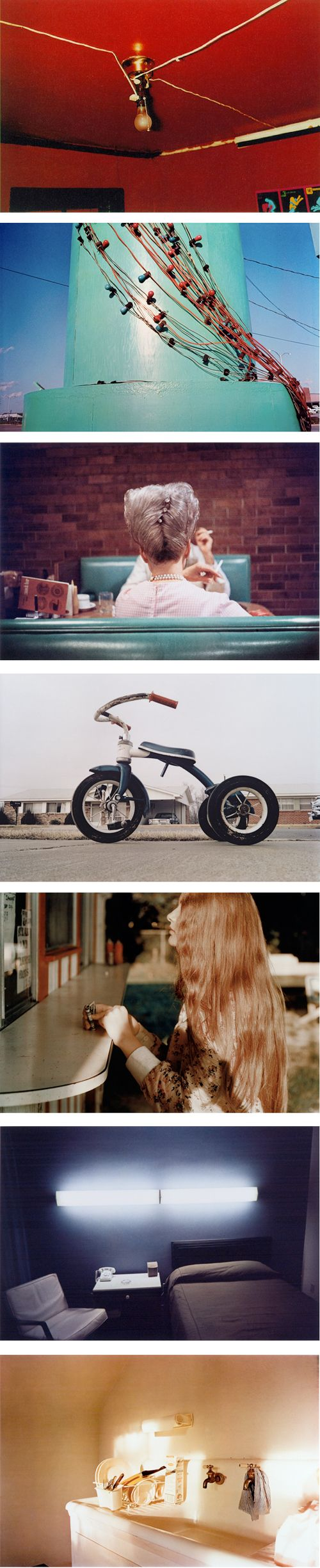 2. William Eggleston simple shots and his use of colour make his photography amazing