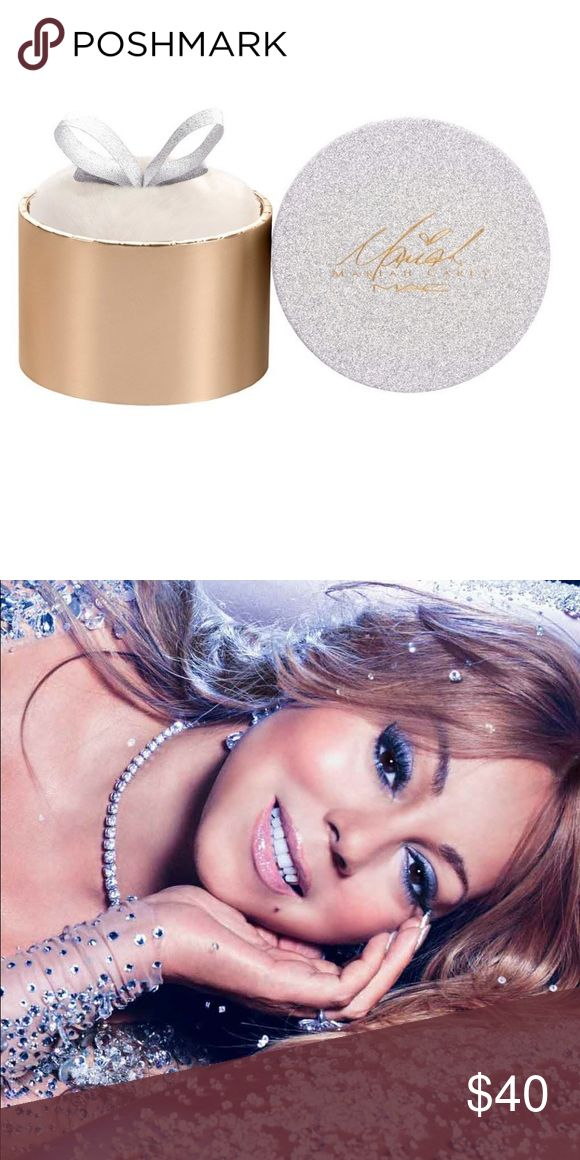 Brand new in Package Mariah Carey MAC loose powder Brand new in package LOOSE POWDER / MARIAH CAREY A silky, ultra-fine powder in radiant gold shimmer. TOUCH MY BODY Radiant gold shimmer Net 14.5g MAC Cosmetics Makeup Luminizer