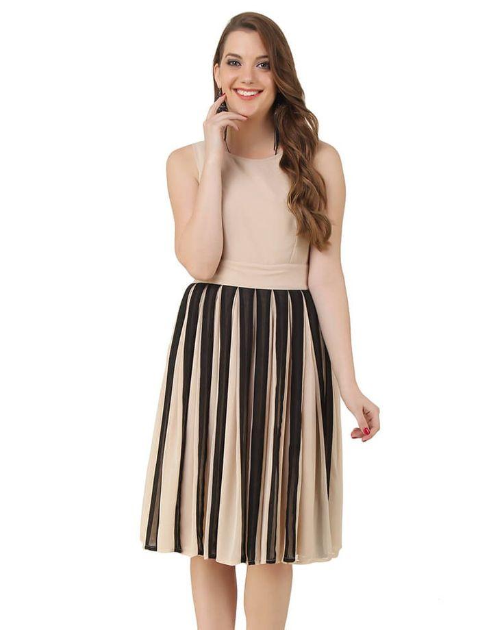 Alyssa Flared Dress