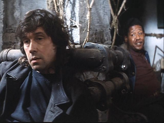 Stephen Rea and Forest Whitaker in The Crying Game (1992)