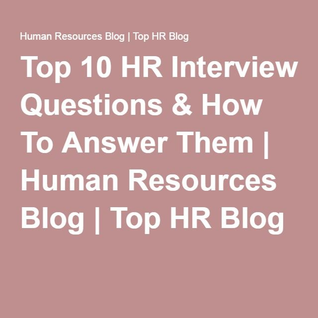 25+ unique Hr interview ideas on Pinterest Accounting interview - restaurant interview questions