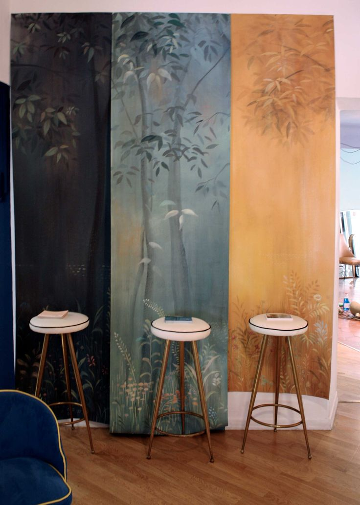 Three different Magic Forest wallpaper by Picta.
