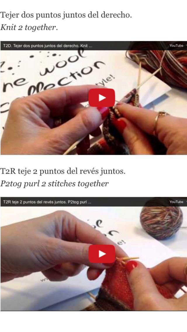 Aprende a tejer con nuestros vídeos tutoriales. #thewoolcollection #knitting #tutoriales #tejer