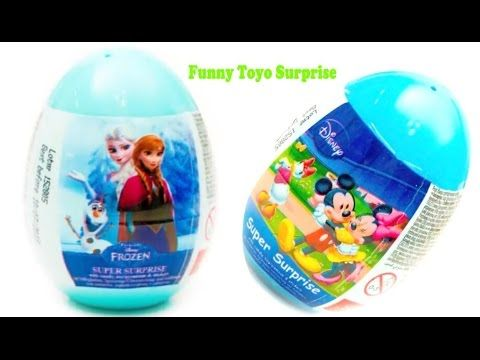 Sweets and Surprises et Confiserie from Disney PIXAR Super Surprises Eggs opened by Funny Toyo Surprise, video for Kids with ULTIMATE SPIDER-MAN, TRANSFORMER...
