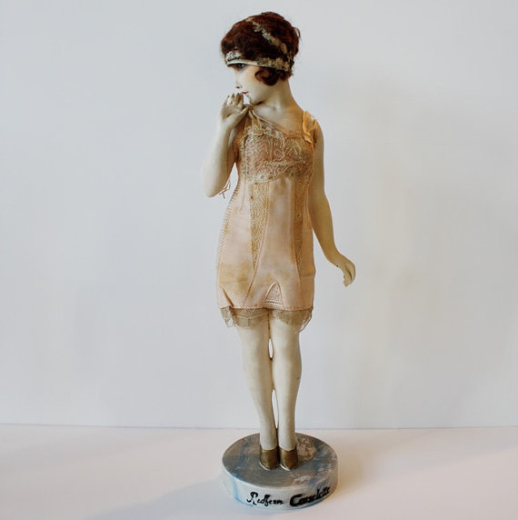 1920's Boudoir Doll Mani from France