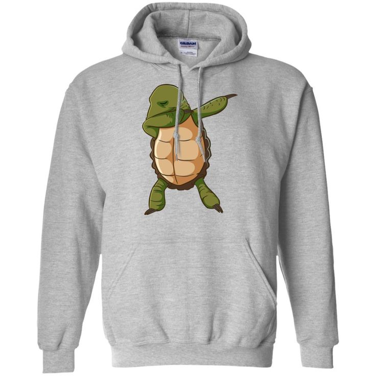 Turtle Shirt Funny Dabbing Dab Dance Tortoise Unisex Hoodie for Men Women Plus Size