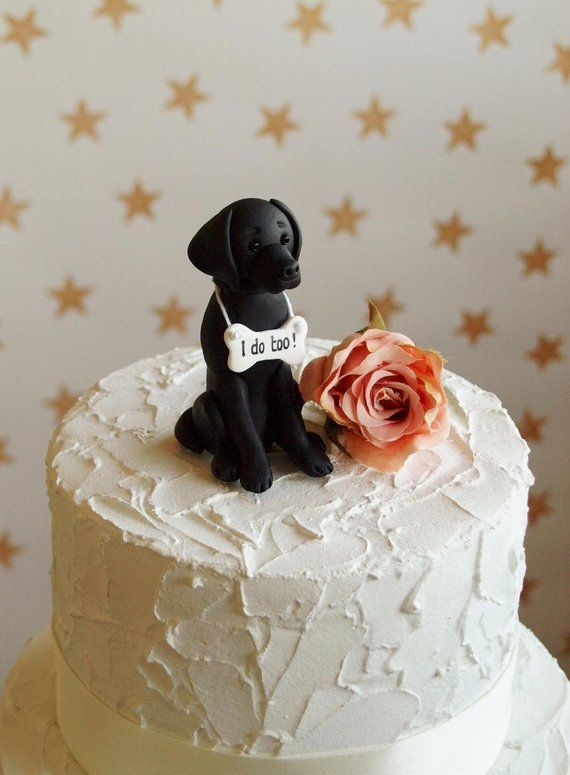 Labrador Cake Topper Available In Black Golden And Chocolate Please Specify Which Colour Yo Dog Cake Topper Wedding Wedding Cake Toppers Grooms Cake Toppers