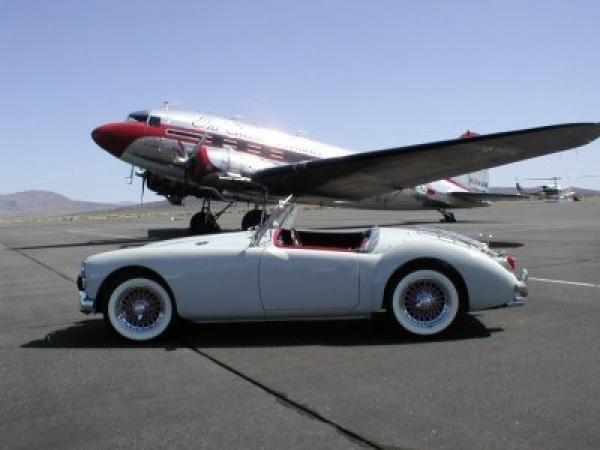 Gene deRuelle's 1959 MGA Roadster