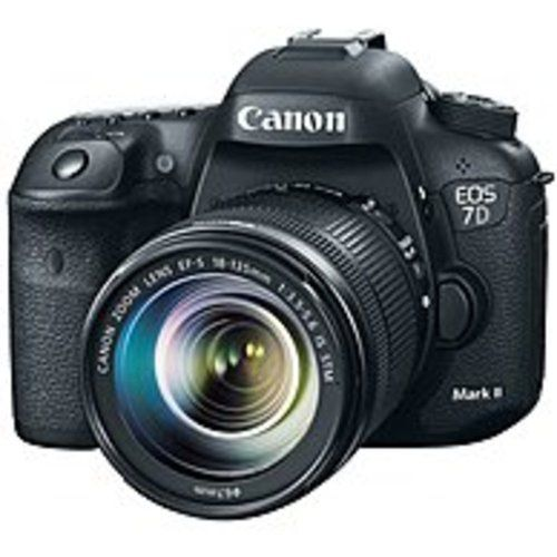 Canon EOS 7D Mark II Digital SLR Camera with 18-135mm IS STM Lens - 3 LCD Display - 16:9 - 7.5x Optical Zoom - Optical (IS) - 5472 x 3648 Image - 1920 x 1080 Video - HDMI - PictBridge - HD Movie Mode - Wireless LAN - GPS