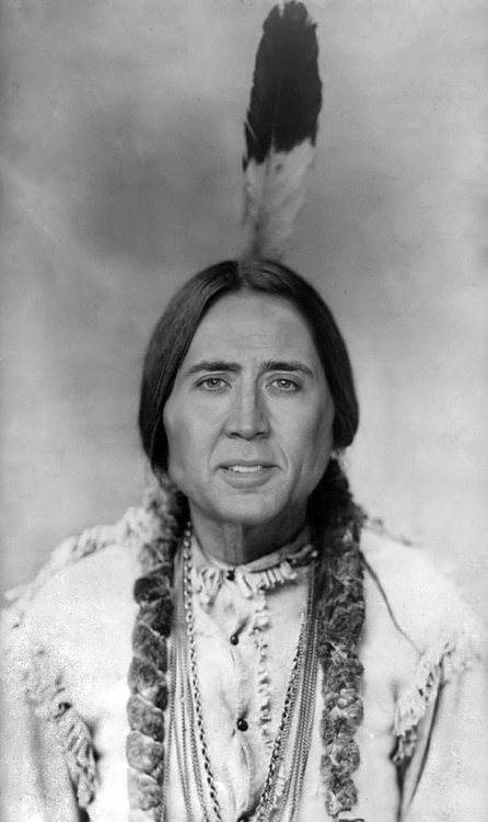 Nicholas Cage??!! You on a famous person or historical figure.