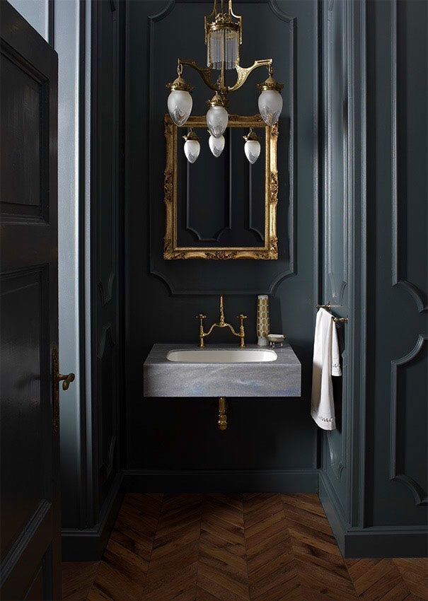 dark bathroom ideas google search