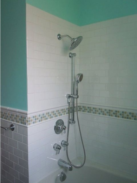Bathroom Accent Tile Design Ideas, Pictures, Remodel, And Decor   Page 8