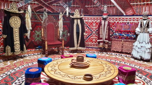Yurts: Dwellings used by Hun warriors and the nomadic tribes of the near East and Central Asia