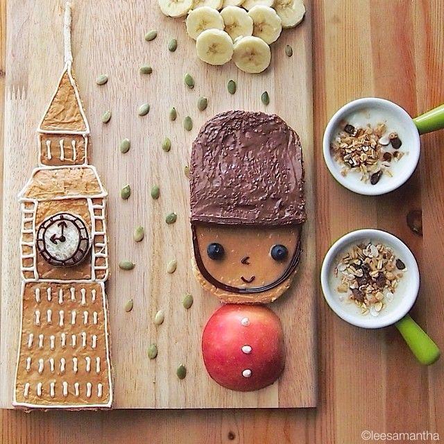 Londra (idee-per-far-mangiare-verdure-ai-bambini) by Samantha Lee