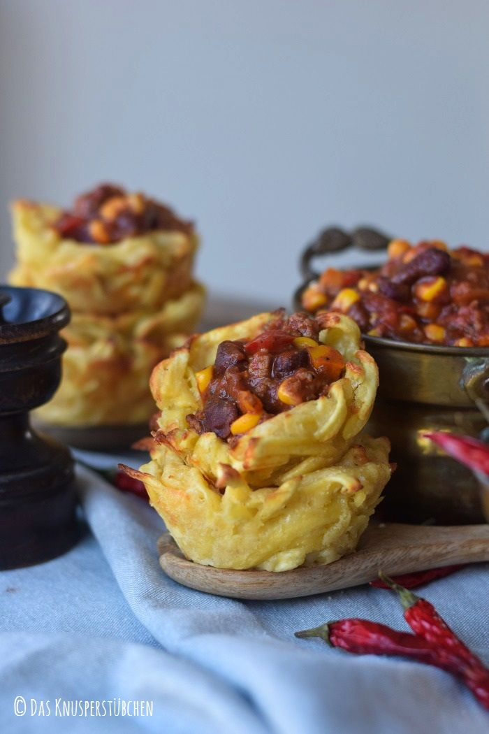 Pasta Cups with chilli perfect for #picnic
